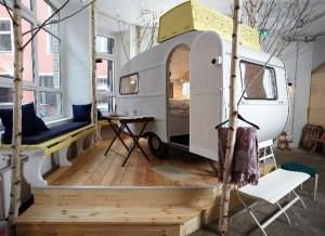 Indoor-Camping im Hüttenpalast, Foto: Jan Brockhaus